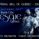 Monde Osé's Burlesque Ball, Quebec