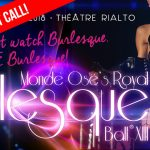 Burlesque Ball 2018 - Pre-sale Last call!