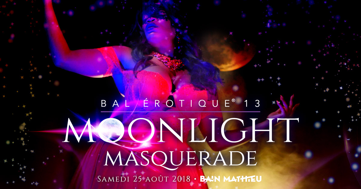 Bal Érotique 13 MOONLIGHT MASQUERADE Video