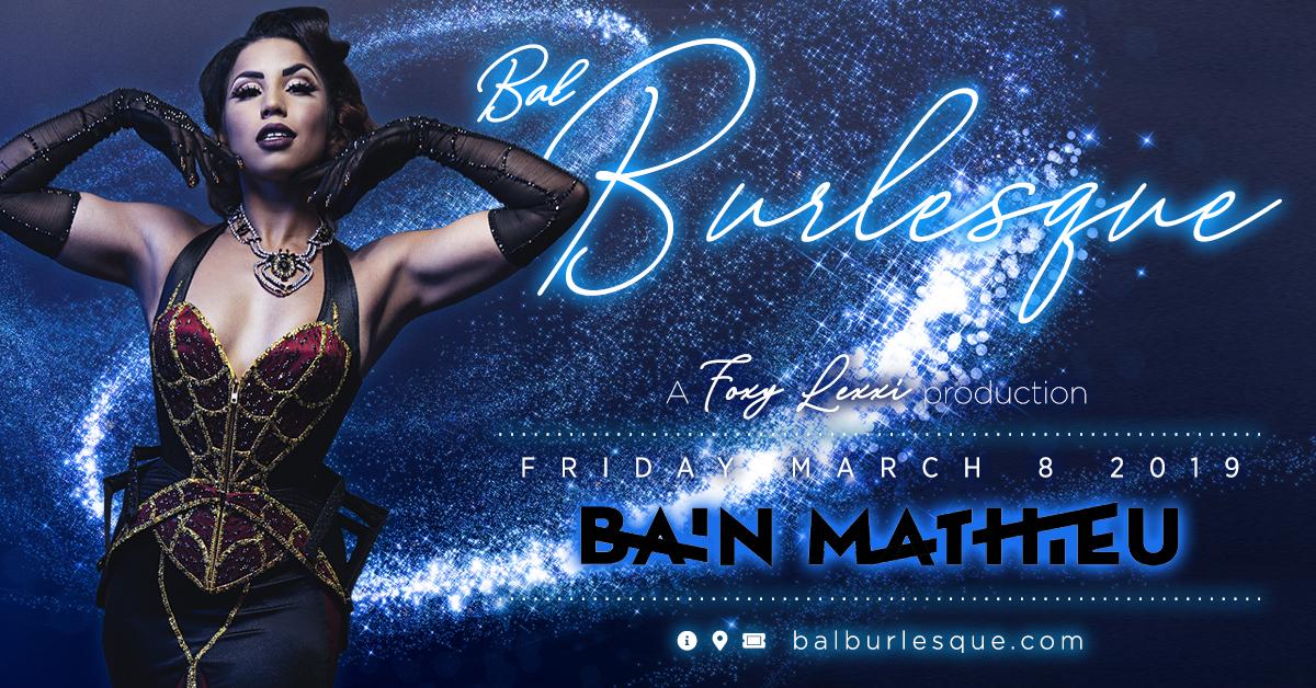 Bal Burlesque 2019 - Lou Lou la Duchesse de Rière