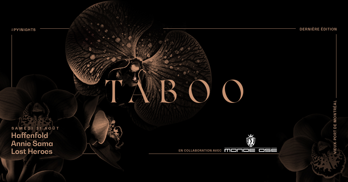 PY1 Nights |Taboo - Last Edition